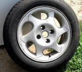 Lité disky + 100% nové pneu