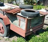 Dvoukolová sklop. vlečka za traktor