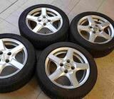Zimní pneu s alu disky Enzo 15