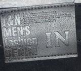 Jeans černé pružné, I and N Men's