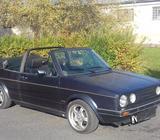 VW Golf 1 cabrio r. v. 1987