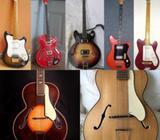 Koupím staré české kytary