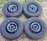 Škoda Octavia zimní pneumatiky 15