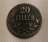 20FILLÉR 1917 K.B