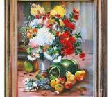 KYTICE - olejomalba na plátně - 1