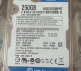 2,5 HDD 250GB