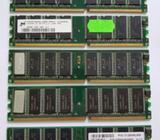 DDR paměti do PC, vše 256 MB