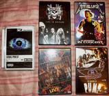 DVD rock,metal