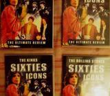 DVD Beatles, Kinks, Rol. Stones