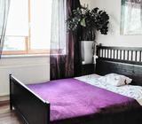 Dřevěná postel,180cm s rošt/matr
