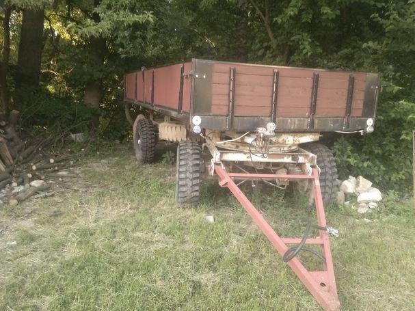 Vlek za traktor 7 tun