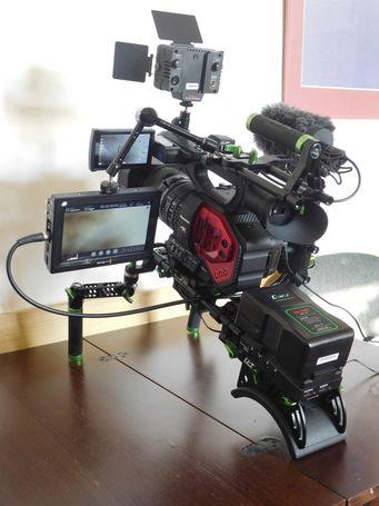 Prodej prof. Digital kamery AG DVX200 4K